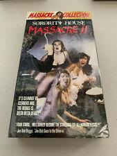 Sorority House Massacre II 2 VINTAGE CLASSICS VHS BRAND NEW SEALED