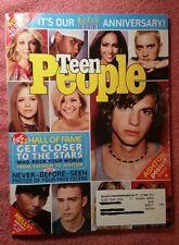 Teen People Magazine Ashton Kutcher & Eminem February 2003