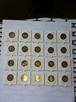 LOT 20 PIECES 2013 2 EURO COMMEMORATIVE NEUVES EMISES CETTE ANNEE