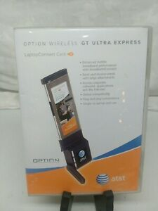AT&T GE0302 OPTION WIRELESS GT ULTRA EXPRESS LAPTOP CONNECT CARD
