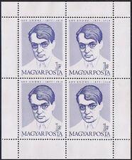 HUNGARY - MAGYAR POSTA - 1977 -- Endre Ady, Hungarian poet - Sou. Sheet - #2508