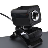1080P 800W 4 LED HD Webcam Camera + USB 2.0 Miniphone for Computer PC Laptop  JR