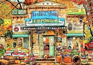 The General Store by Aimee Stewart Bluebird New Sealed 1000 Piece Jigsaw Puzzle