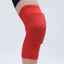 e10cbd5bf0 Short Knee Sleeves Leg Support Brace Patella Protector Sports Honeycomb Knee  Pad
