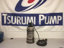 """Tsurumi SQ2-4Y Stainless Steel Pump, 2"""" Discharge, ½ HP, NEW Discontinued Model"""