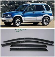 For Suzuki Grand Vitara 1998-2005 Side Window Visors Rain Guard Vent Deflectors