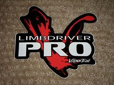 New Vapor Trail Limbdriver Rro Sticker