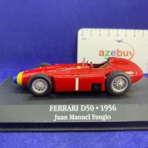 Ferrari D50 1956 Year Juan Manuel Fangio 1/43 Diecast Collectible Model Car