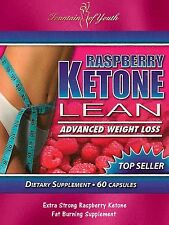 RASPBERRY KETONE LEAN ADVANCED 1200mg FAT BURNER WEIGHT LOSS DIET PILLS 60 CAPS