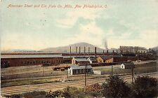 Ohio postcard New Philadelpia, American Sheet and Tin Plate Co. Mills
