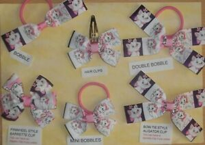 (5F) HANDMADE HAIR BOWS - THE ARISTOCATS - MARIE CAT