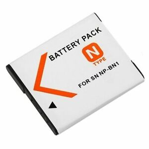 Battery for NP-BN1 NPBN1 Sony Cyber-Shot DSC-W830 DSC-WX50 DSC-WX70 DSC-WX80