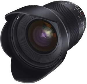 Samyang 24mm F1.4 UMC II Nikon AE Full Frame Camera Lens