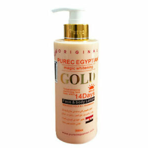 PURE EGYPTIAN GOLD MAGIC WHITENING LOTION ONE BOTTLE- DIRECTLY FROM MANUFACTURER