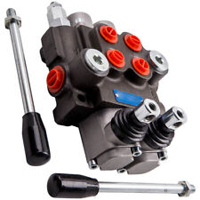 2 Spool Hydraulic Directional Valve 11 Gpm For Log Splitters Small Tractor Adj