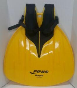 Finis Rapid Monofin 🔥Strength Training Fin Yellow🔥Powerful Fast! Mermind Aqua