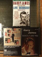 Harry James x 3 More Harry James In Hi Fi, Exactly Like You, Live In Concert NM