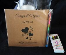 Personalised Childrens Kids Wedding Activity Pack Book Mandala 6x6 Favour 31