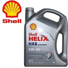 Shell Helix HX8 Synthetic 5W-40 (SN/CF, A3/B4, MB229.3) Latta da 4L