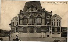 CPA SAINT AMAND - les - eaux (Nord) .- Le theatre  (193725)