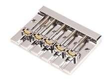 Hipshot KickAss 5 String Bass Bridge Chrome Retrofits BadAss V - 5K501C