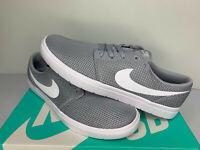 NEW SIZE 8-12 Nike SB Portmore II Ultralight Men Skateboarding Shoes Casual Grey
