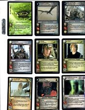 LORD OF THE RINGS LoTR THE RETURN OF THE KING ANTHOLOGY 17 CARD COMPLETE SET