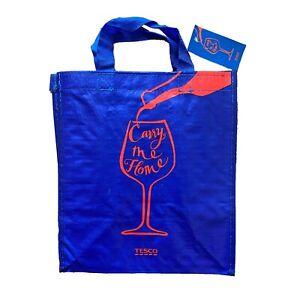 Tesco|Carry Me Home|6 Bottles Wine Spirit Carrier Bag|Reusable Shopping|Free P&P
