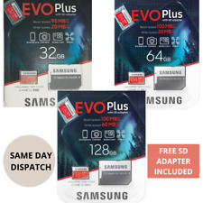 Samsung 32/64/128GB Micro SD Memory Card for DJI Mavic Air, 2,mavic Mini /Pro