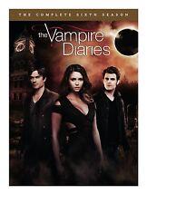 THE VAMPIRE DIARIES: SEASON 6 DVD - THE COMPLETE SIXTH SEASON [5 DISCS] - NEW