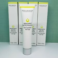 Lot x4 Juice Beauty Green Apple AGE DEFY Moisturizer - Travel (0.5 oz each) BNIB