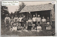 RPPC - Kinmundy, Ill. - Strawberry Pickers - early 1900s