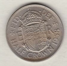 More details for 1958 elizabeth ii half crown in extremely fine to near mint condition