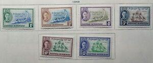 Br. Honduras Scott #131-136, 141-151, Mint Original Gum (HR)