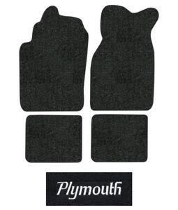 1983-1987 Plymouth Turismo Floor Mats - 4pc - Cutpile