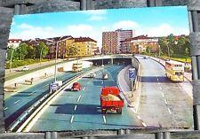 Stadtautobahn Halensee Berlin Ansichtskarte 50er 60er Jahre KRÜGER 921/19 å *