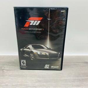 Forza Motorsport 3 Limited Collectors Edition (Microsoft Xbox 360, 2009) 🎄