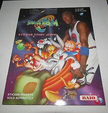1996 Space Jam Warner Bros Michael Jordan BAIO Sticker Album Brand New & Unused
