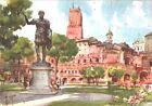 CARTOLINA - ROMA - MERCATI TRAIANEI - ILLUSTRATORE ALDO RAIMONDI - 1950