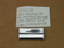 1962 Valiant Signet 200 100 NOS MoPar Lower Grille Molding Center CAP Chryco