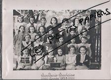 LORETTE PHOTO DE CLASSE 1953 LOIRE 42
