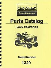 Cub Cadet 1320 Parts Manual