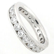 14k Diamond Eternity Band 2.78 Cts (SI-G)  - Eternity Diamond Ring- Size 7  NEW