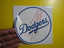 """BEST PRICE!! LOT OF 10 MLB DECAL / STICKER LOS ANGELES DODGERS  5"""" X 5"""""""