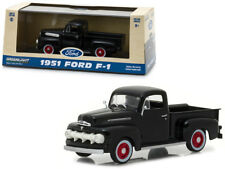 1951 Ford F-1 Pickup Truck Die-cast 1:43 Greenlight 5 inch BLACK 86315
