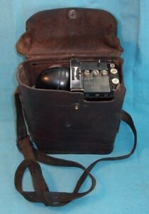 Antique Vintage WWII U S ARMY SIGNAL CORPS EE-8-A FIELD PHONE