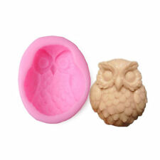 Owl Silicone Candle Candy Chocolate Cake Soap Handmade Making Molds Mould