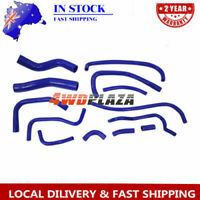 Blue Silicone Heater Hose Kit For Toyota Landcruiser HZj80 1HZ