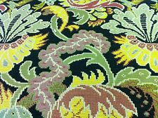 Fabulous!  Clarence House Tapestry Upholstery Fabric Chinon Noir MSRP $396yd