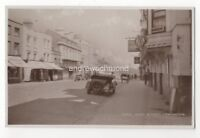 High Street Lymington Hampshire Vintage RP Postcard 985b